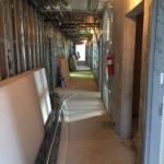 Dorchester Terrace Interior Construction