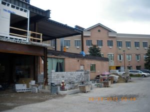 Building progress of Heritage Green Nursing Home