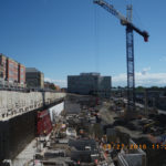 Building progress of Laurier Brantford YMCA Athletics and Recreation Centre