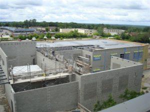 Building progress of Monsignor Lee Catholic School