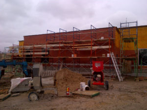 Progress of North Middlesex Shared Services Building