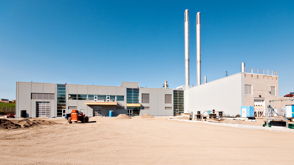 St. Joseph's Health Care Power Plant Expansion