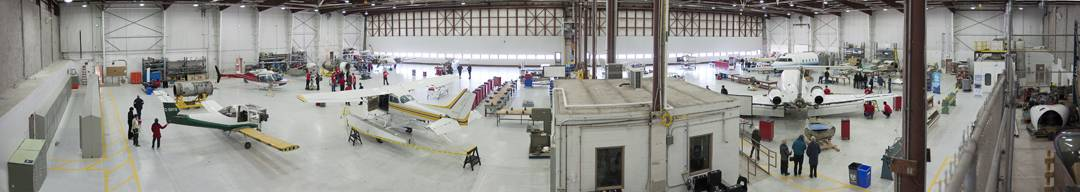 Fanshawe College Aviation Programming Renovations